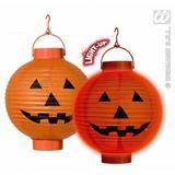 LED LIGHT PUMPKIN LANTERNS 20cm Decoration for Halloween Trick Or Treat Party