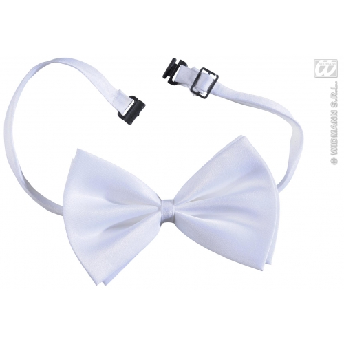 WHITE VICTORIAN BOW TIE ADJUSTABLE DELUXE Decoration for 18th Century Dickensian