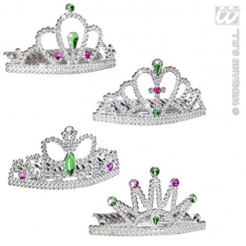 PRINCESS TIARA 1 of 4 styles Hat Accessory for Royal Fairytale Beautiful hero Fancy Dress