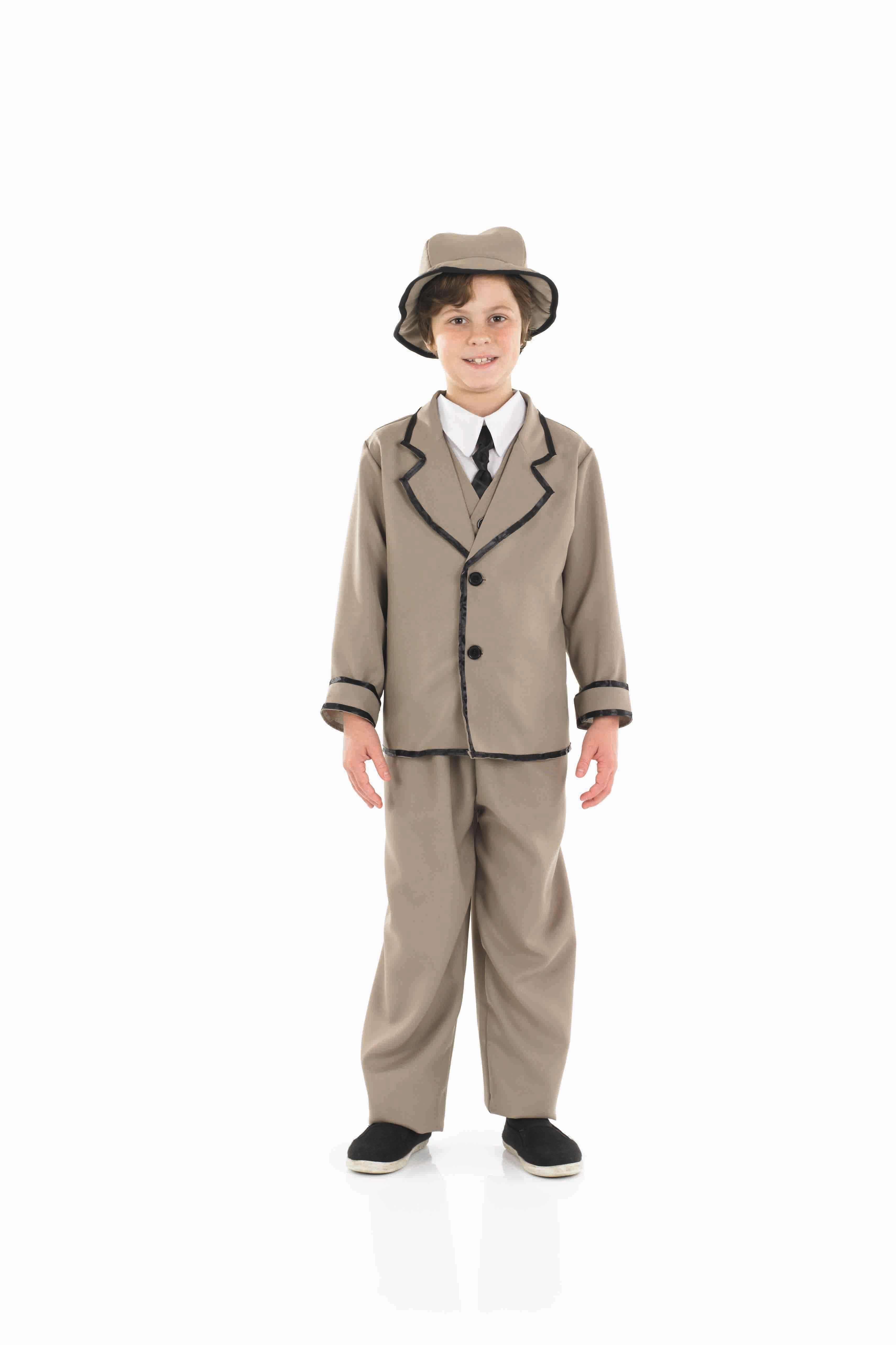 Boys Edwardian Boy Costume for Historic Book Day Fancy Dress Up Outfits