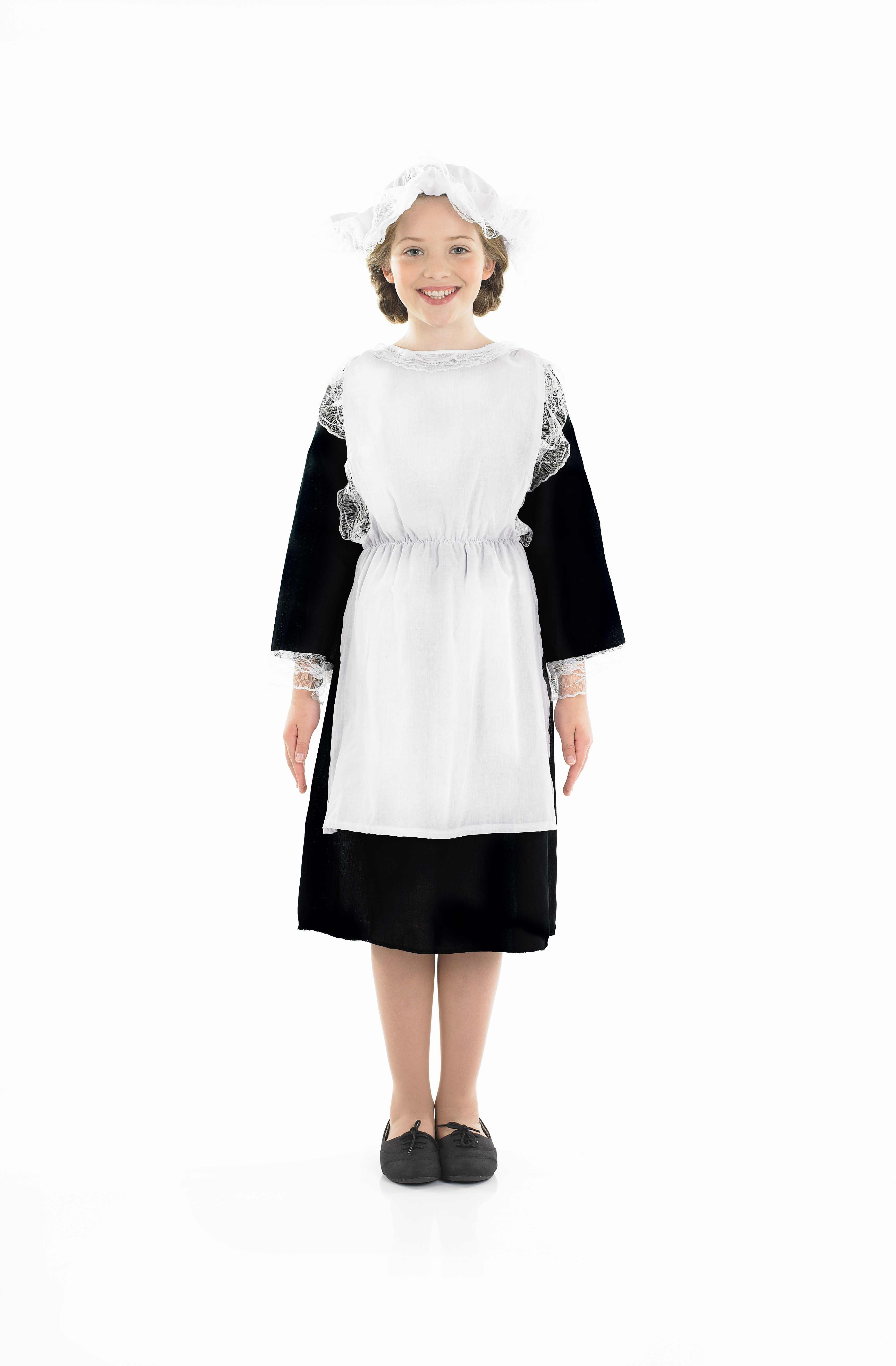 Girls Victorian Girl Costume for Historic Book Day Fancy Dress Up Outfits