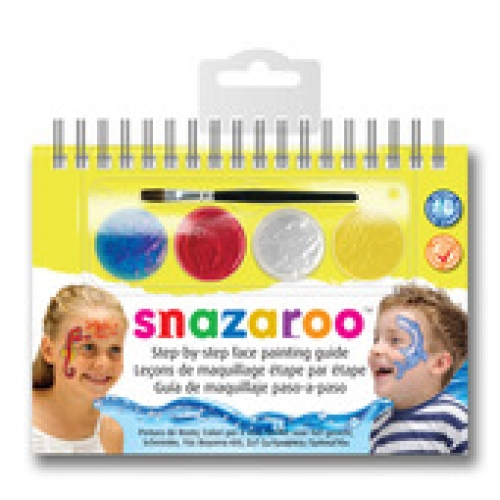 Makeup Set / Booklet Sealife for Face Body Paint Stage Accessory