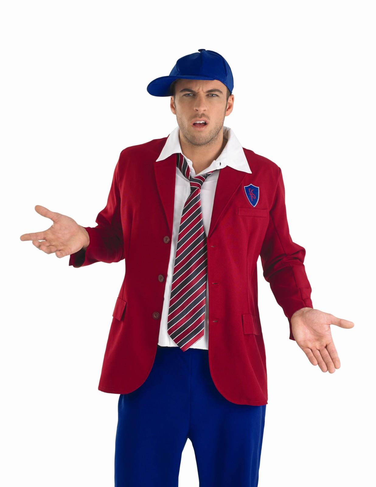 Mens School Boy Costume For Schoolboy Fancy Dress Up Outfit | EBay