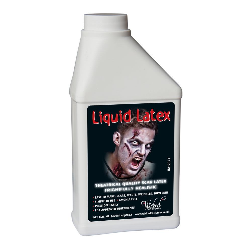 Liquid Latex Wicked Makeup for SFX Fancy Dress