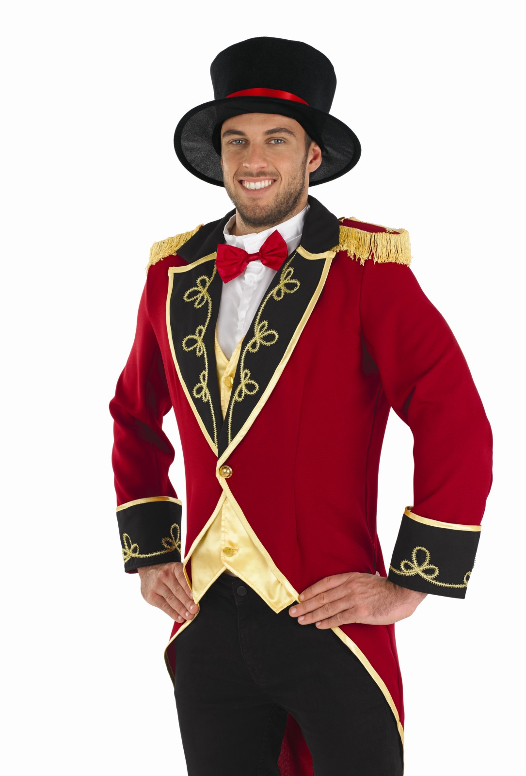 Step into the tent in our range of Mens Circus costumes, featuring everything from Ringmasters, Clowns to Jesters. These carnival creations are brightly coloured, fun and friendly, with a touch of Twisted, horrifying and frightful designs.