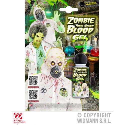 GEL ZOMBIE TOXIC GREEN BLOOD SFX for TWD Halloween Living Walking Dead Cosmetics