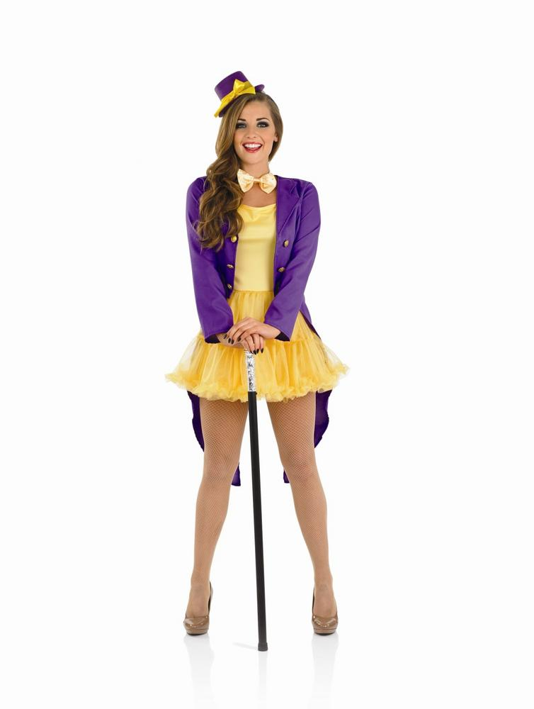 Ladies Factory Owner Costume For Chocolate Maker Fancy Dress Adults Womens