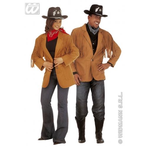 Wild West Jacket for Cowboy Wild West Fancy Dress