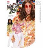 70s Mod Shirt for Disco Fancy Dress