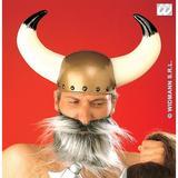 Viking Helmet Hat for Nordic Celtic Gaul Fancy Dress Accessory