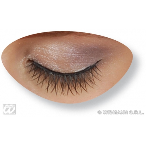 Eyelashes Cross Over Makeup for Accessory Stage Accessory