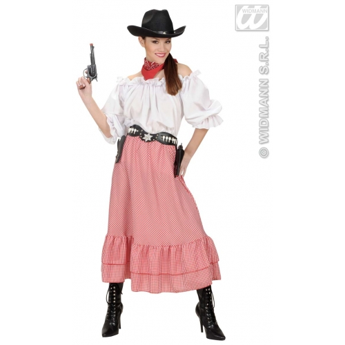 Blouse Shirt Coat for Cowboy Wild West Fancy Dress