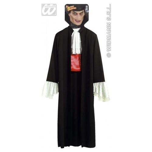 Dracula Coat Vampire Halloween for Vampire Halloween Fancy Dress