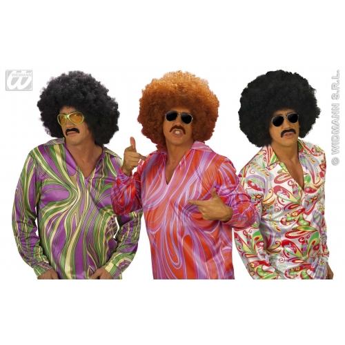 Funky Fever Shirt for Disco 70s Fancy Dress