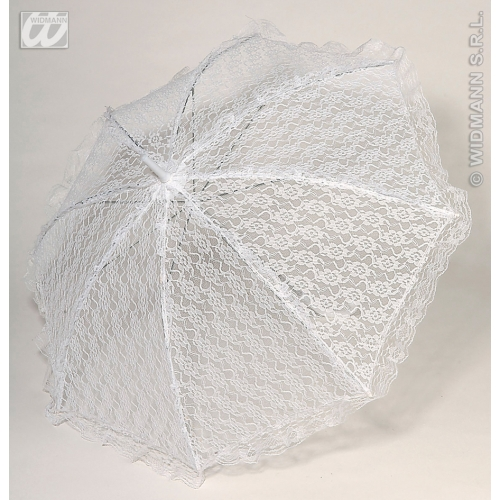 Parasol Lace Novelty Prop for Umberella Fancy Dress Accessory