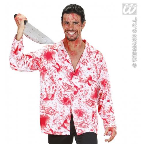 Bloody Shirt for Psychopath Serial Killer Fancy Dress