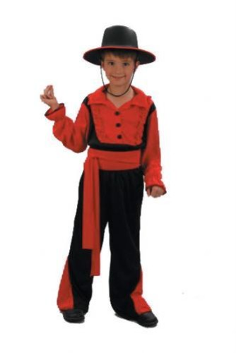 Childrens Boys Gaucho Spanish Costume for Spain Matador Fancy Dress | eBay