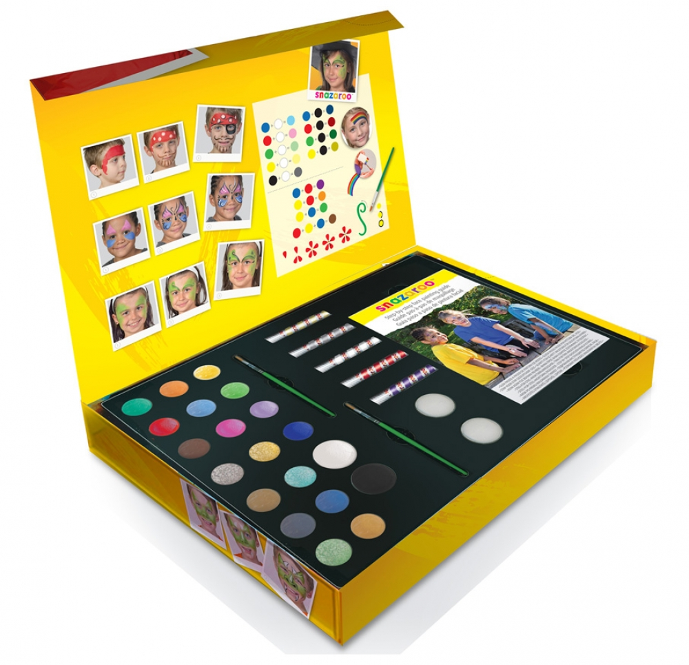 Snazaroo Large Face Painting Gift Box for Makeup Fancy Dress