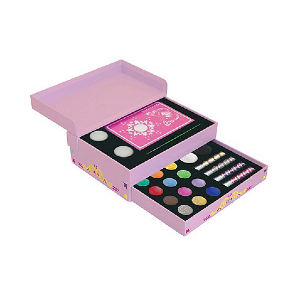 Small Face Painting Gift Box Makeup for SFX Fancy Dress