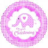 "Foil 18"" On Your Christening Helium Balloon Partyware for Newborn Party"