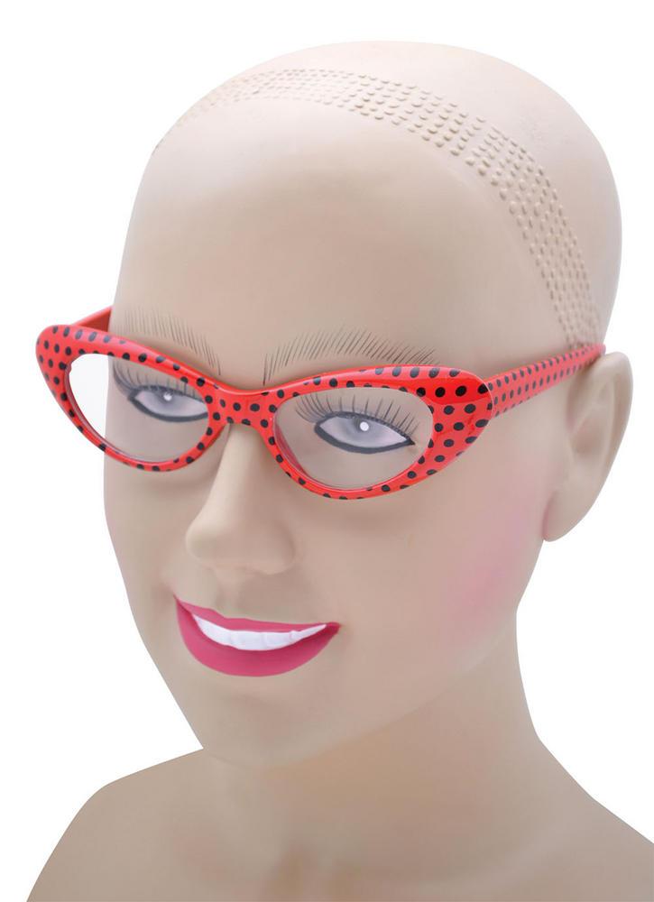 Rock 'n' Roll Glasses Glasses Accessory for 50s Fancy Dress