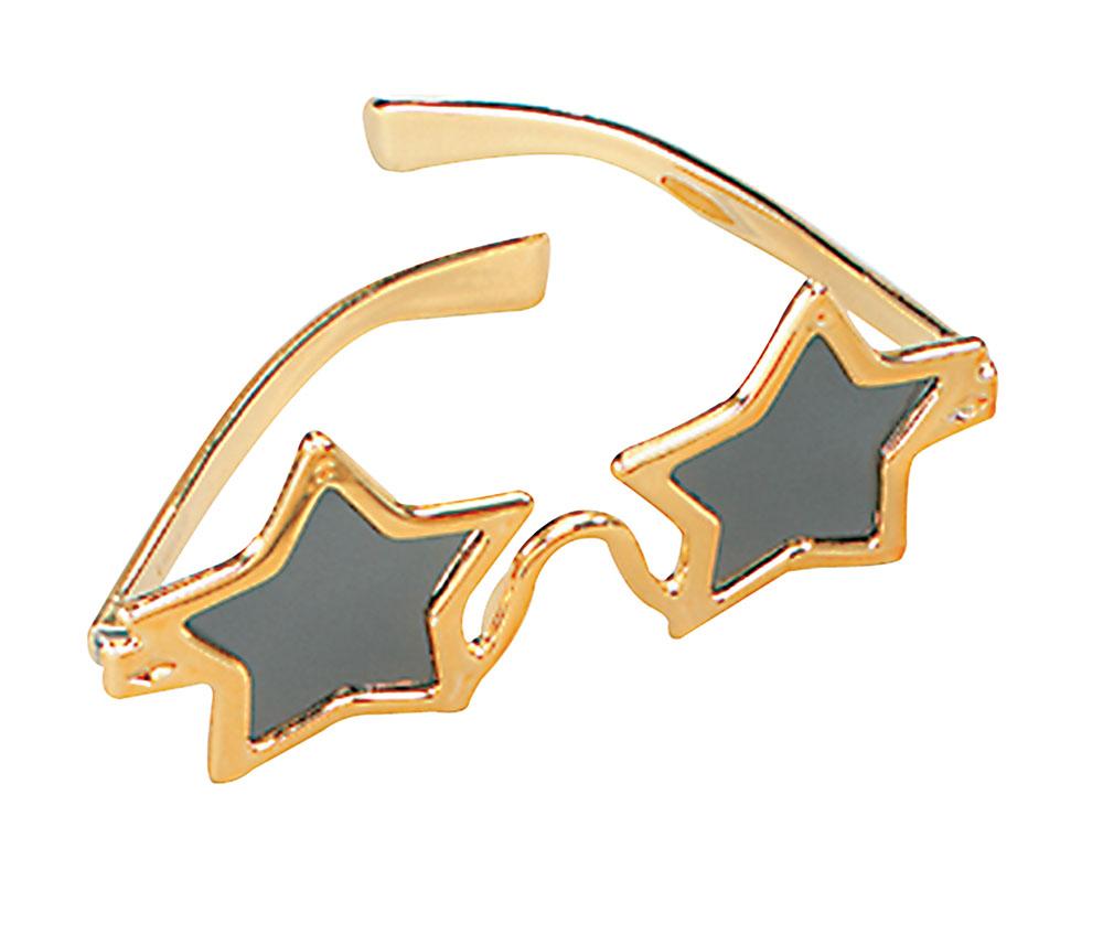 Star Glasses Glasses Accessory for 70s 80s 90s Fancy Dress