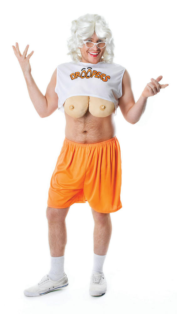Big tits in halloween costume