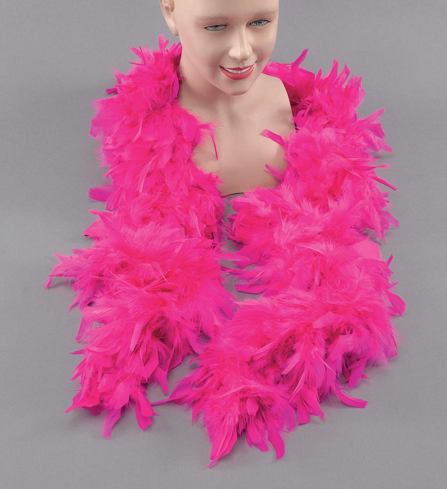 Feather Boa Cyclamen Boas Accessory for 20s 30s Flapper Fancy Dress Boas