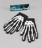 """Gloves Skeleton 9"""" Gloves Accessory for Halloween Fancy Dress Gloves"""