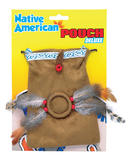 Indian Pouch Prop Accessory for Wild West Cowboys Native Fancy Dress Prop