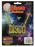 Disco Necklace Jewellery Accessory for 70s Glitz Fancy Dress Jewellery