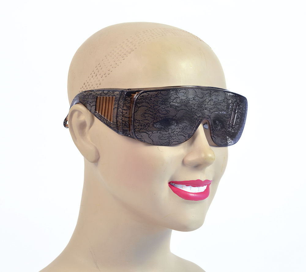 Lace Print Glasses Glasses Accessory for 20s Fancy Dress Glasses
