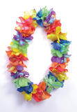 Flower Leis Pearlised Colours (Small Flower) Leis for 60s hawaiian hibiscus Fanc