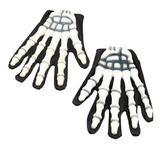 Gloves Skeleton/Rubber Fingers Gloves Accessory for Halloween Fancy Dress Gloves