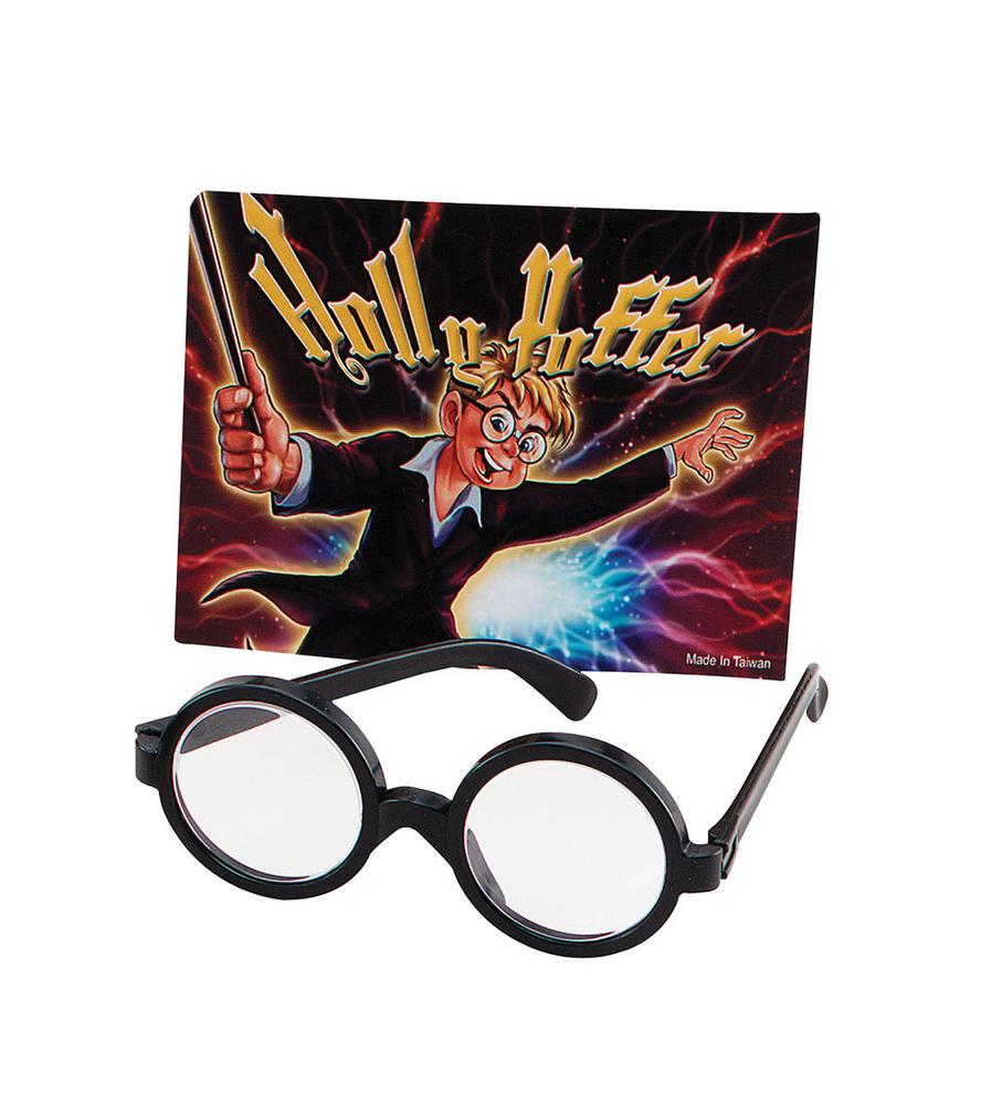 Wizard Boy Glasses Glasses Accessory for Magician Merlin Fancy Dress Glasses