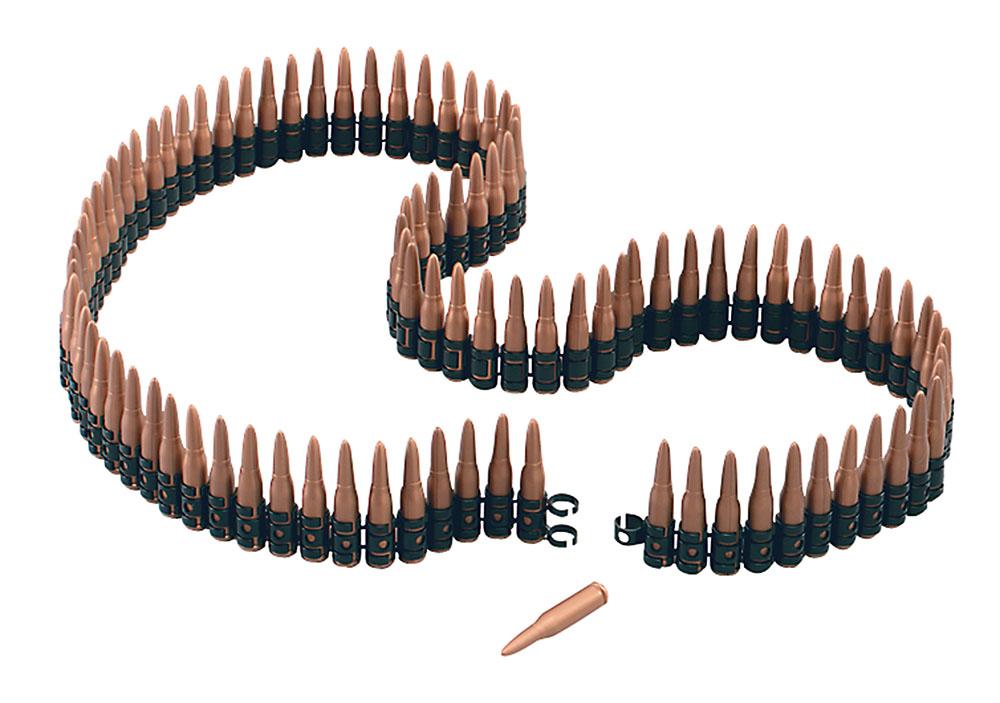 Bullet Belt 5' Long Plastic Belt for Mexican Cowboy Soldier Fancy Dress Belt