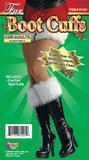 Fur Boot Cuffs Footwear Accessory for Fairytale Puss Christmas Fancy Dress Footw