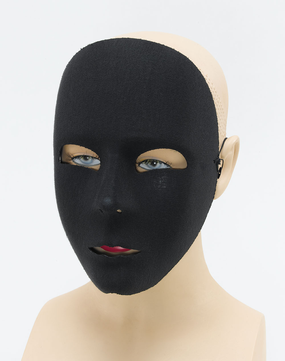 Plain White Face Mask Halloween Trick Or Treat Fancy Dress