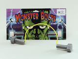 Monster Bolts On A Wire Joke for Halloween Frankenstein Party Joke
