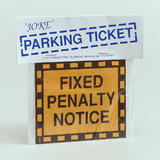 Joke Parking Ticket Joke for Trick Gag Car Party Joke