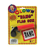 Flag Bang Gun Pink Joke for Trick Gag Magician Party Joke