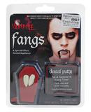 Dracula Fang Caps Teeth Accessory for Vampire Halloween Fancy Dress Teeth