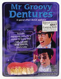 Mr Groovy Teeth Teeth Accessory for 60s 70s Austin Fancy Dress Teeth