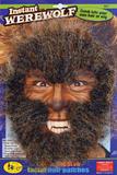 Instant Werewolf Face Hair Kit Prosphetics Accessory for Halloween Fancy Dress P