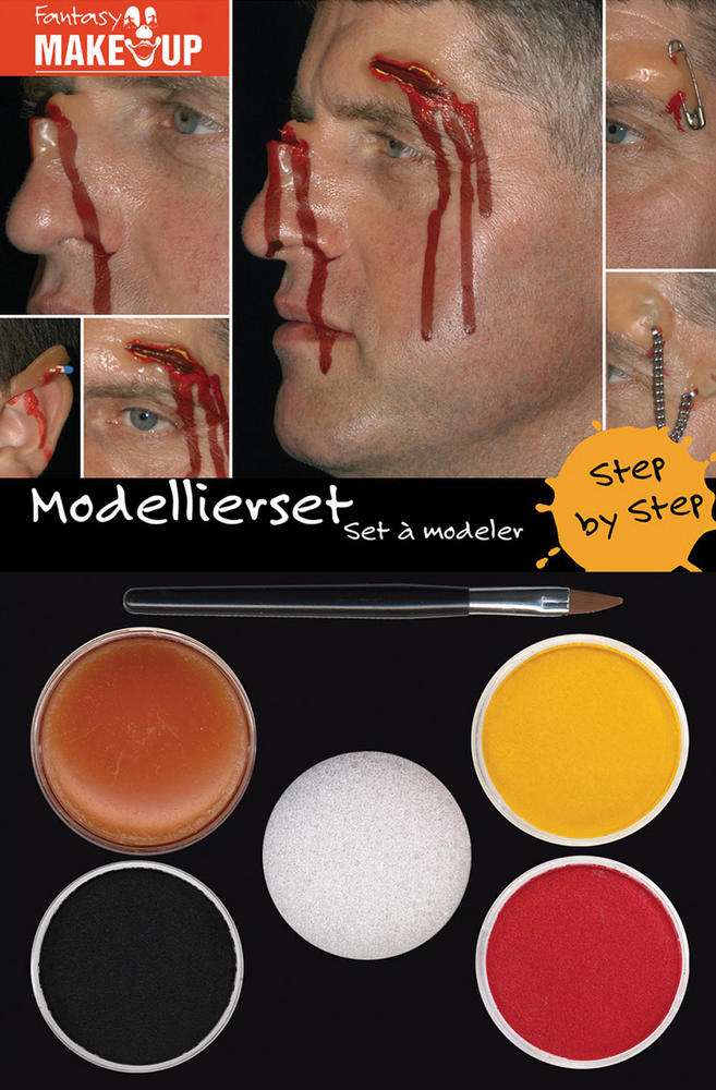 Modelling Make Up Makeup Accessory for Clown Fancy Dress Makeup