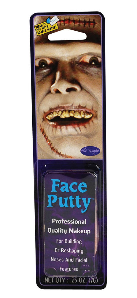 Face Putty Makeup Accessory for Disguise Fancy Dress Makeup