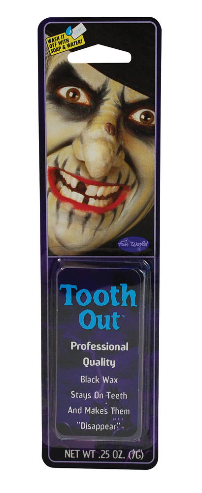 Tooth Wax Makeup Accessory for Pirate Witch Chav Fancy Dress Makeup