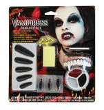 Vampiress Make Up Kit Makeup Accessory for Halloween Dracula Fancy Dress Makeup