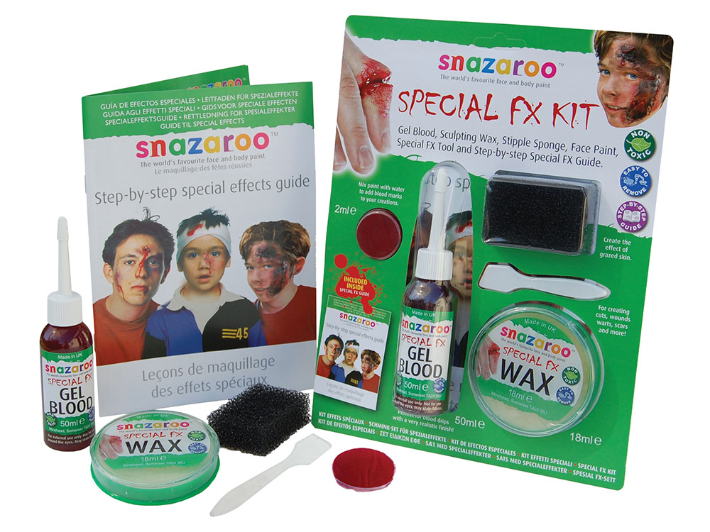 Halloween Special FX Kit Makeup Accessory for Face Body Fancy Dress Makeup