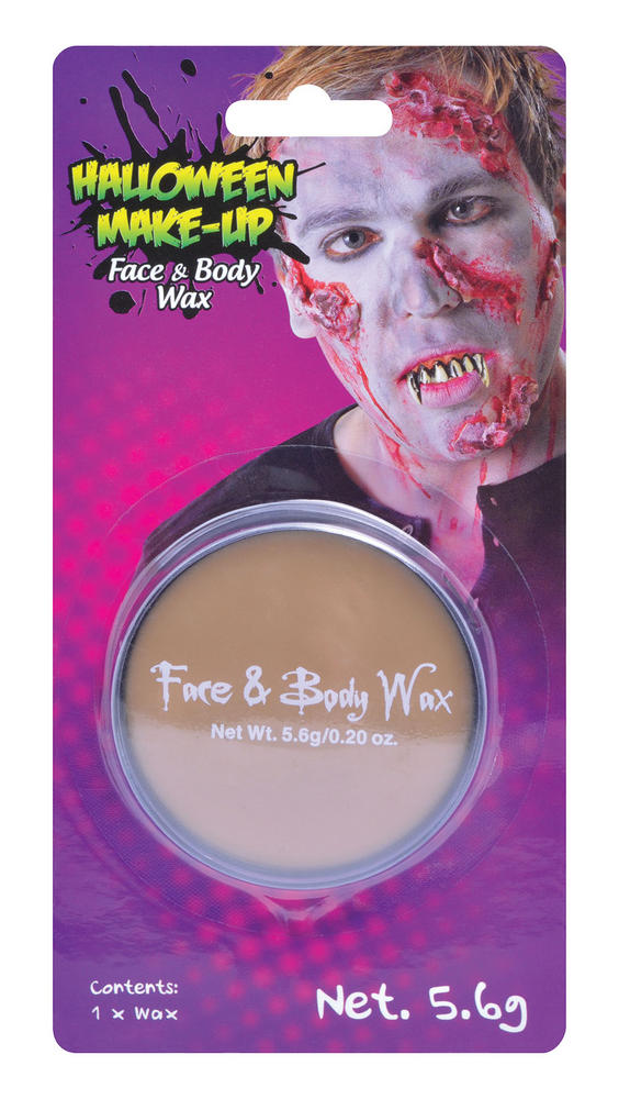 Face And Body Wax Blister Carded (5 6g) Makeup for Prosphetics Fancy Dress Makeu